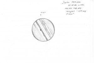 Jupiter 03.10.2011 Europadurchgang a