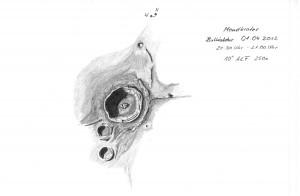 Mondkrater Bullialdus 01.04.2012