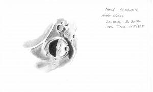 Mondkrater Cichus 02.02.2012