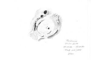 Mondkrater Posidonius 07.01.2014